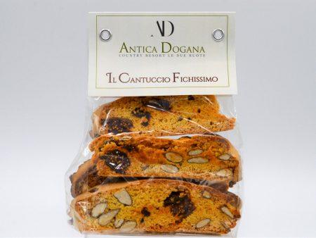 Prodotti Toscani Biscotti e Dolci Fatti in casa Il Cantuccio Fichissimo, Biscotti in confezione da 250 gr