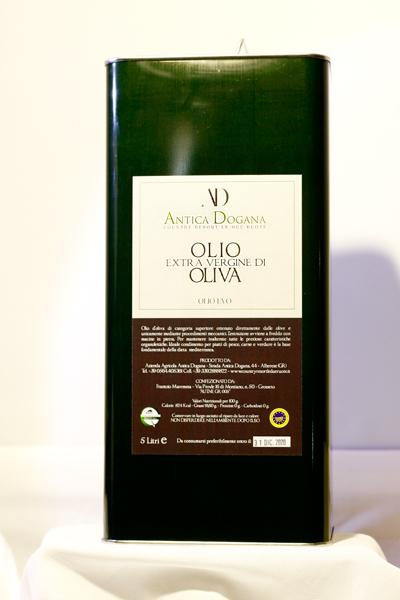 Extravergine di Oliva Toscano Online - Olio Lattina da 5 lt - Antica Dogana