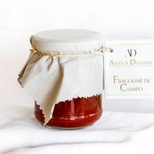 Marmellata di Fragoline di Campo, confezione da 250 gr. Prodotti tipici Toscani