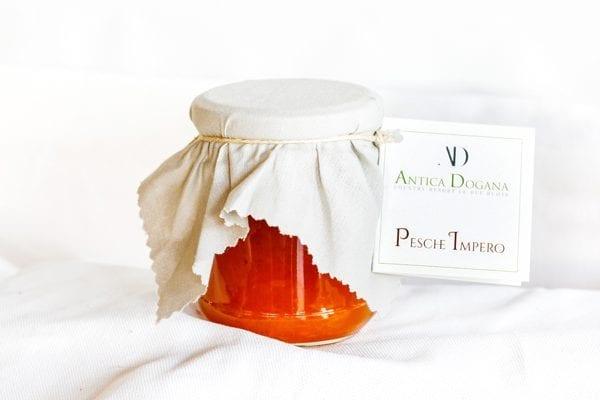Marmellata di Pesche, Pesche Impero, confezione 250 gr Prodotti Tipici Toscani vendita online