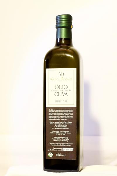 Bottiglia in vetro 0.75lt - Olio Extravergine d'Oliva Vendita Online - Antica Dogana