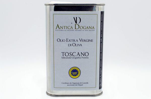 Olio Extravergine di Oliva Toscano lattina da 0.25 litri