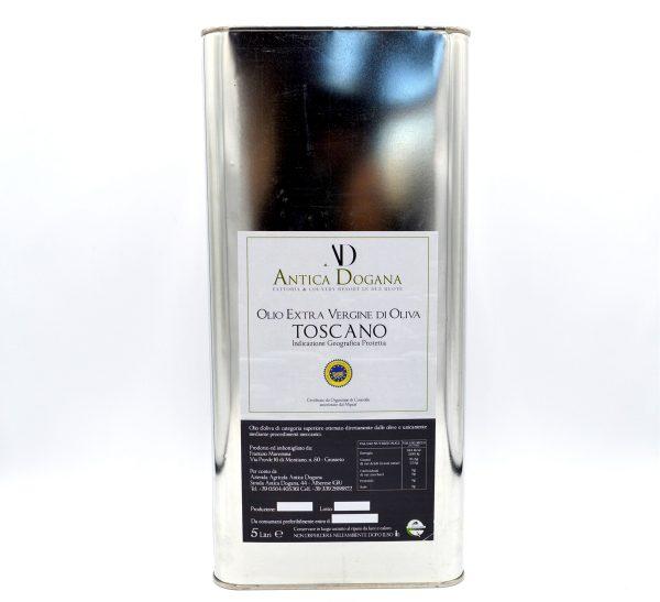 Olio Extravergine di Oliva Toscano lattina da 5 litri