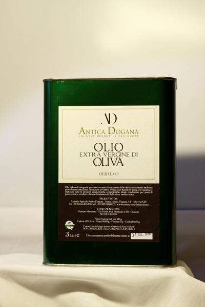 Lattina 3lt Olio Extravergine d'Oliva Vendita Online - Antica Dogana