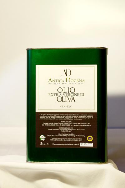 Olio Extravergine di Oliva Toscano Online - Lattina 3 lt. - Antica Dogana