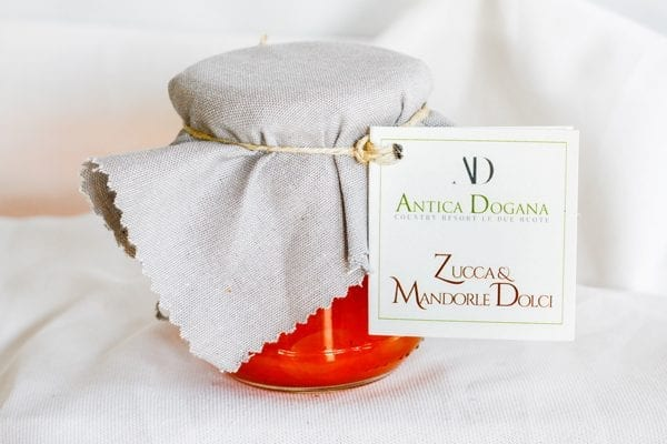 Composta di Frutta di Zucca e Mandorle Dolci, Prodotti Tipici Toscana Online Shop Antica Dogana