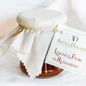Composta di Frutta di Limone e Fiori di Rosmarino, Prodotti Tipici Toscana Online Shop Antica Dogana