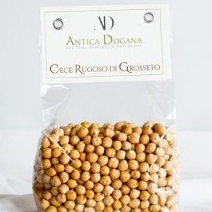 vendita legumi online, prodotti tipici toscana Cece Rugoso di Grosseto, confezione da 300 gr