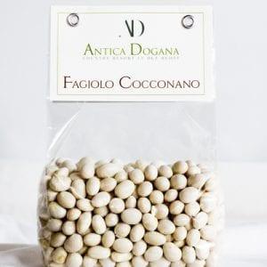 vendita legumi online, prodotti tipici toscana Fagiolo Cocconano, confezione da 300 gr