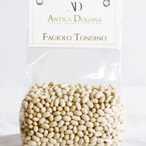 vendita legumi online, prodotti tipici toscana Fagiolo Tondino, confezione da 300 gr