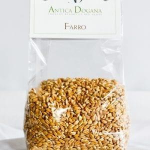 vendita legumi online, prodotti tipici toscana Farro, confezione da 300 gr