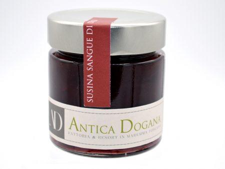Marmellata di Susina Sangue di Drago, confezione 250 gr. Marmellate Particolari - Vendita prodotti tipici