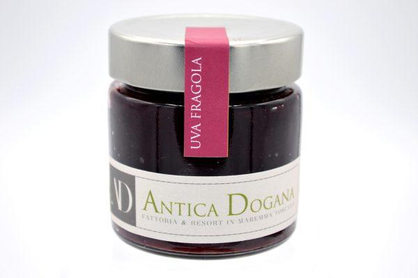 Marmellata di Uva Fragola, Vendita prodotti tipici Toscani - Antica Dogana