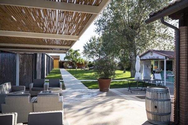 Giardino Ombroso - Week End con la Famiglia in Toscana - Residence Le Due Ruote
