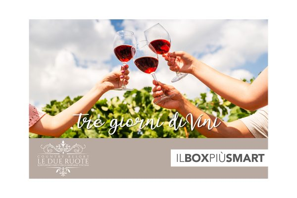 Box Vacanze tre giorni divini in toscana modifica - Country Resort Le due Ruote